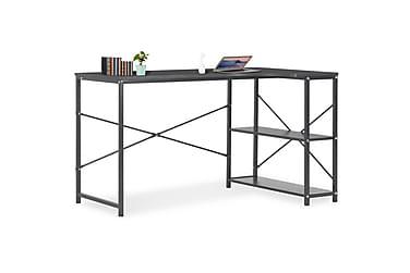 Datorbord svart 120x72x70 cm