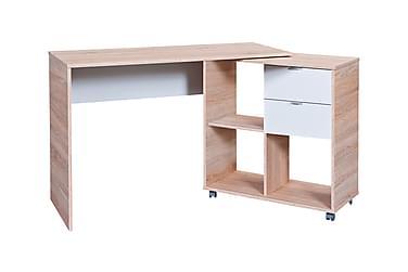 FINU Skrivbord 120 Ek/Vit