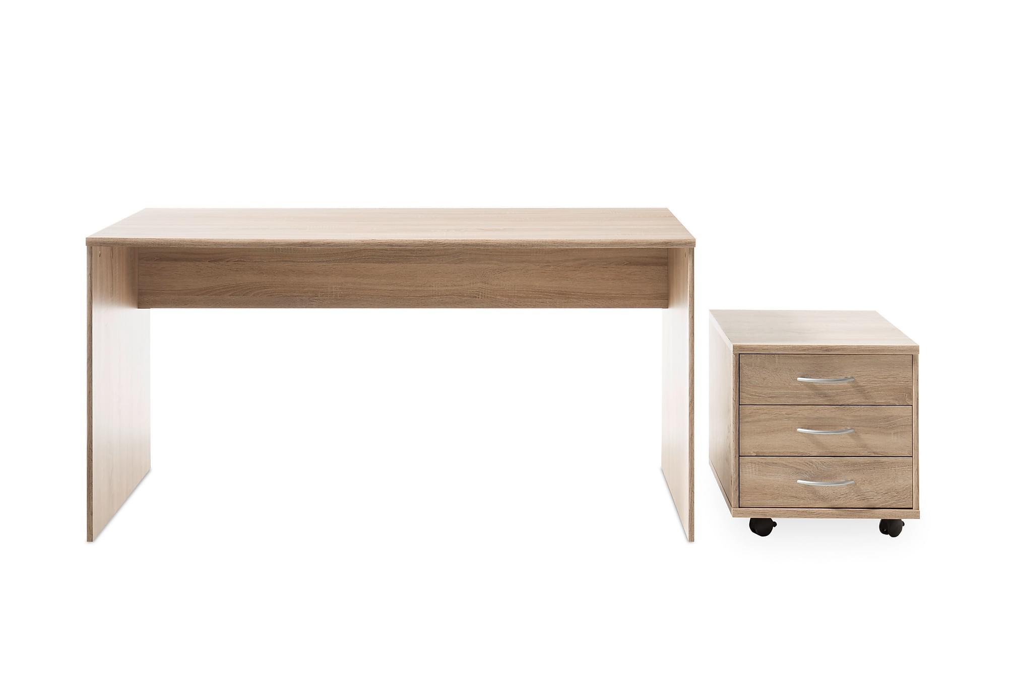 GERRARD Skrivbord 150 cm Trä/Natur