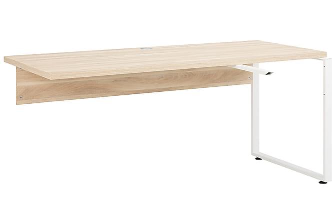 HAMBORN Skrivbordsdel 120 Brun/Platinagrå - Inomhus - Bord - Skrivbord