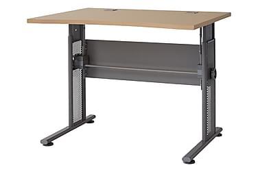 PRAXIS Skrivbord 100 Trä/Grå