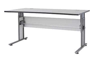 PRAXIS Skrivbord 160 Ljusgrå