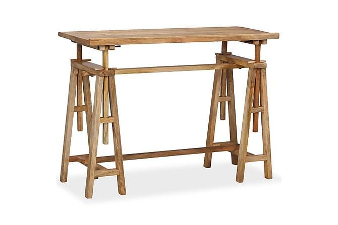 Ritbord massivt mangoträ 116x50x76 cm - Inomhus - Bord - Skrivbord