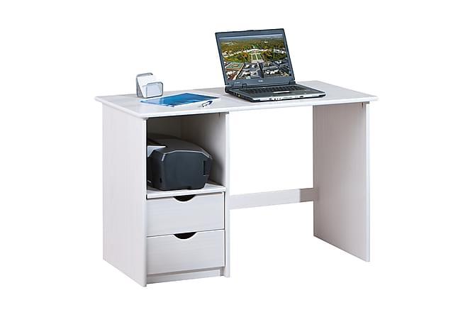 SINUS Skrivbord 115 Vit - Möbler & Inredning - Bord - Skrivbord