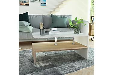 Bubikon Soffbord med Hylla 90x59 cm