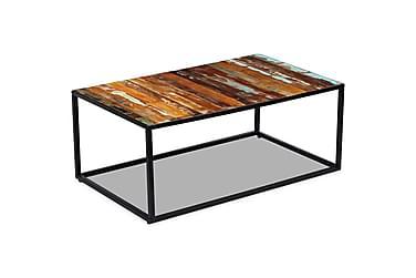 DAUNTE Soffbord 100x60 Återvunnet Trä