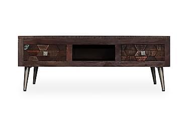 Dottikon Soffbord 2 Lådor 100x60 cm