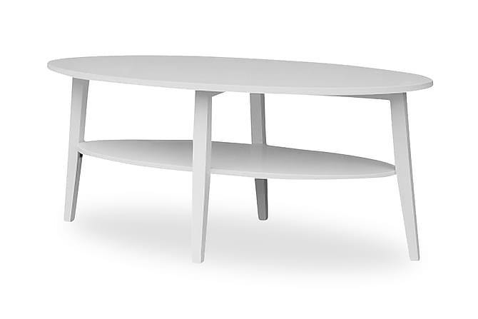 GUSSARVSHYTTAN Soffbord 60 cm Vit - Möbler & Inredning - Bord - Soffbord