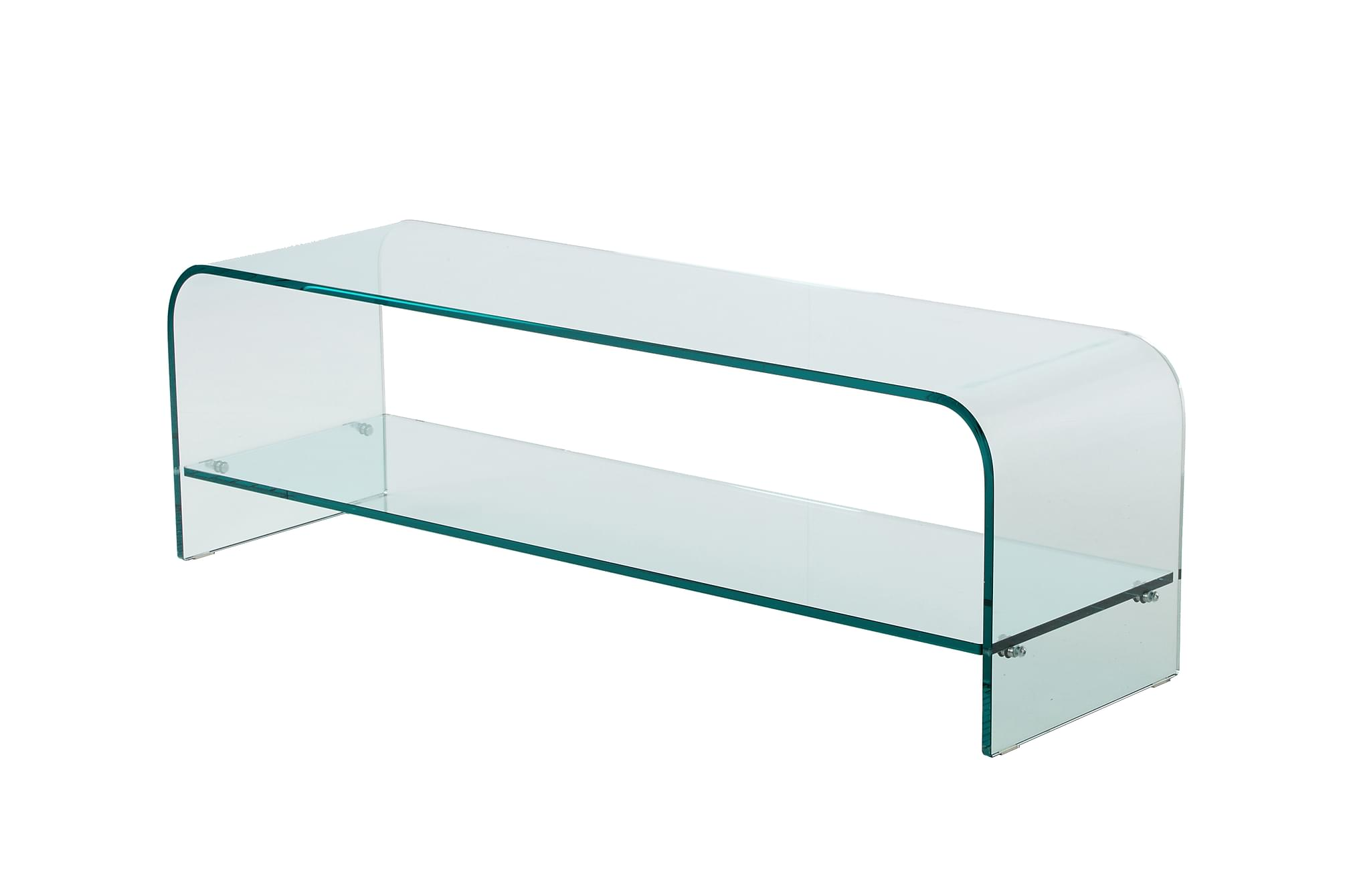 MABEL TV-bänk Glas