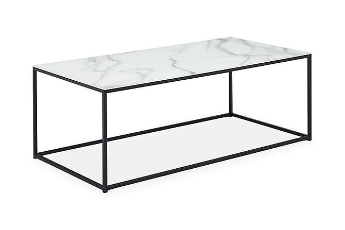 MATADOR Soffbord Vit/Svart - Möbler & Inredning - Bord - Soffbord