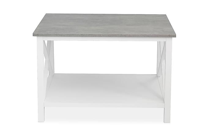 MERINA Soffbord 80 Grå/Vit - Möbler & Inredning - Bord - Soffbord