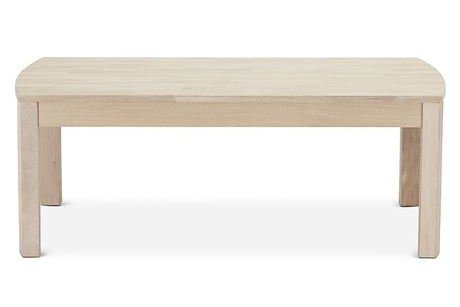 NICOLINA Soffbord 140 Ek/Vit - Möbler & Inredning - Bord - Soffbord