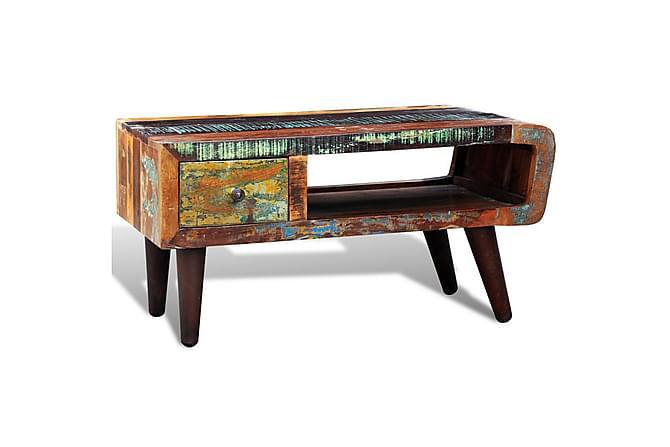 PRESIDENT Soffbord Låda 60x60 Återvunnet Trä - Inomhus - Bord - Soffbord