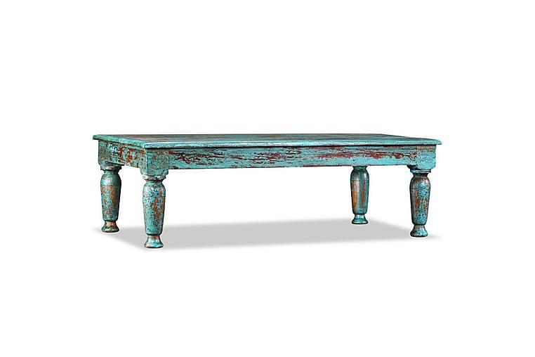 Soffbord i massivt återvunnet trä 110x60x34 cm - Flerfärgad - Möbler & Inredning - Bord - Soffbord