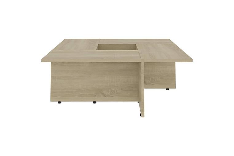 Soffbord sonoma-ek 79,5x79,5x30 cm spånskiva - Brun - Möbler & Inredning - Bord - Soffbord