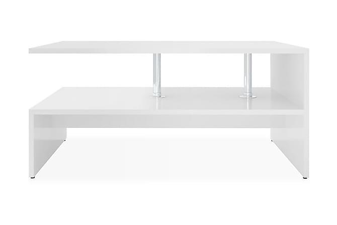Soffbord spånskiva 90x59x42 cm vit - Vit - Möbler & Inredning - Bord - Soffbord
