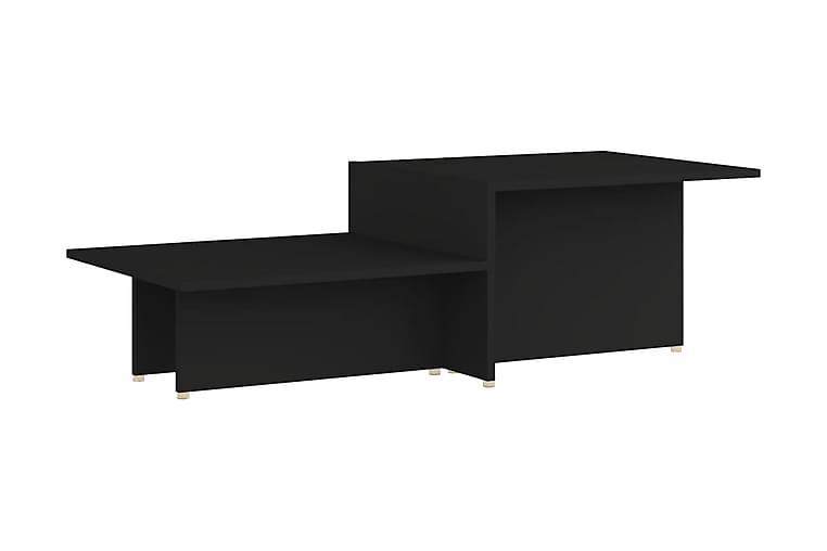Soffbord svart 111,5x50x33 cm spånskiva - Svart - Möbler & Inredning - Bord - Soffbord