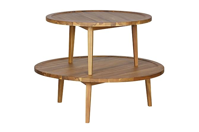 TAPIO Soffbord 100 Rund Akacia - Möbler & Inredning - Bord - Soffbord