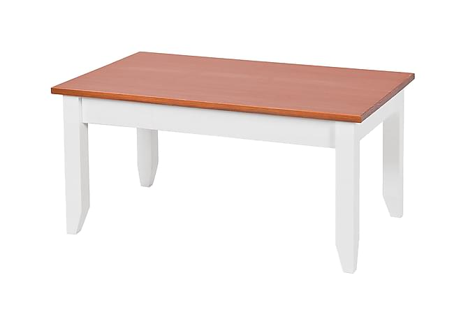 WESTERLAND Soffbord 90 Trä/Vit - Möbler & Inredning - Bord - Soffbord