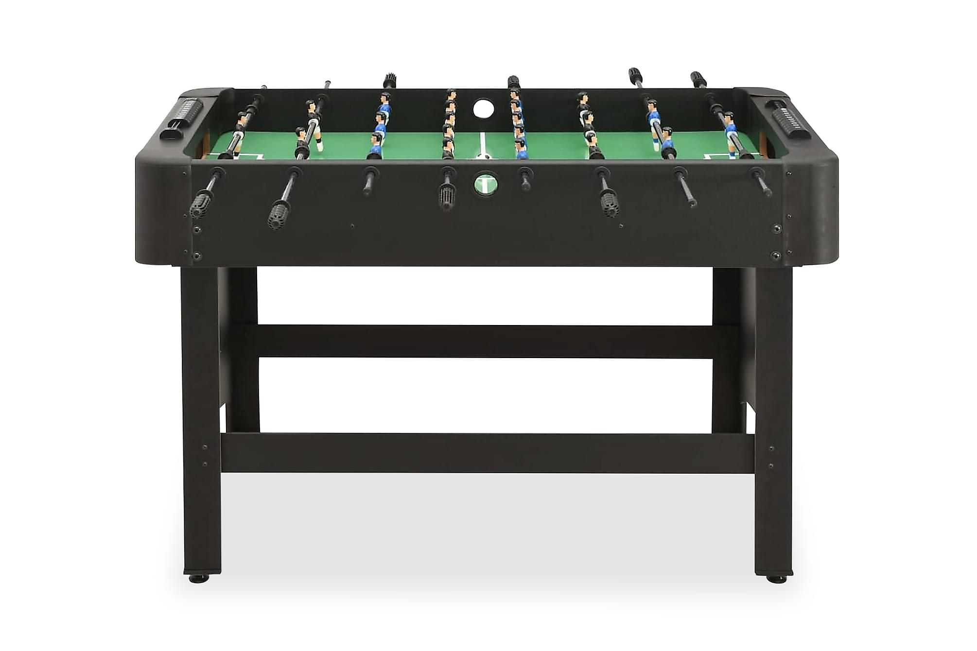 Fotbollsbord 118x95x79 cm svart