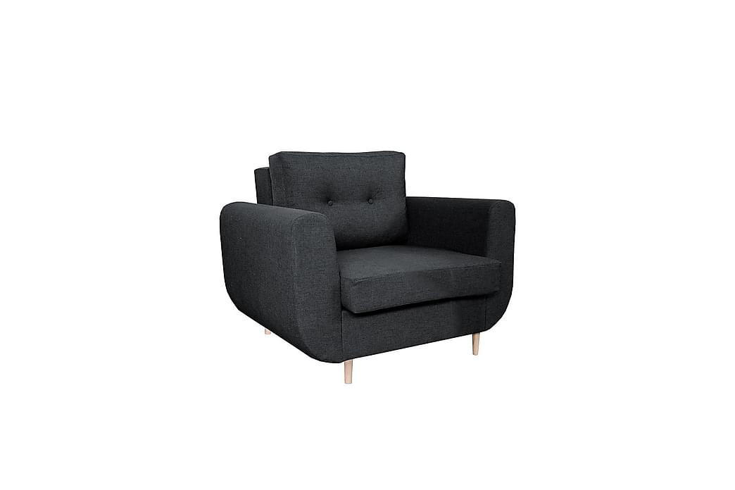 GASTELUM Fåtölj - Svart - Möbler & Inredning - Fåtöljer & fotpallar - Fåtöljer
