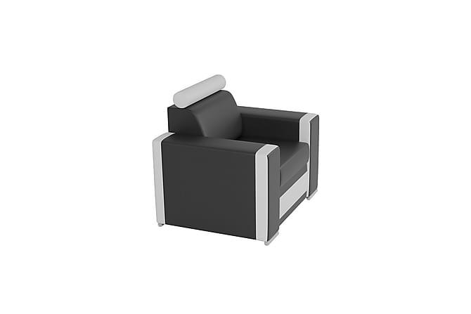 ROMA Fåtölj 86x85x92 cm - Svart - Möbler & Inredning - Fåtöljer & fotpallar - Fåtöljer