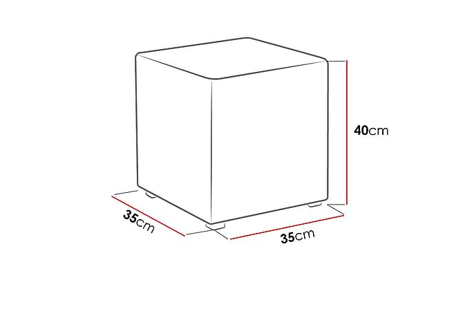 SMART Sittpuff 35x35x40 cm - Lila - Möbler & Inredning - Fåtöljer & fotpallar - Sittpuff