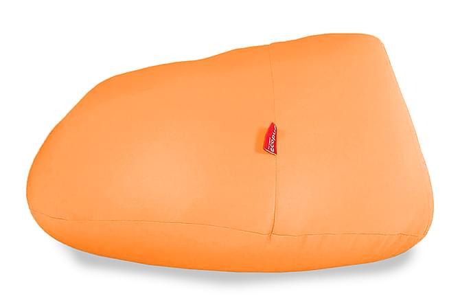 Slapp Sittsäck 110x110x70 cm - Orange - Inomhus - Fåtöljer & fotpallar - Sittsäckar