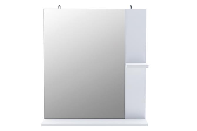 CORALIE Badrumsspegel 62 Spegel Vit - Möbler & Inredning - Förvaring - Badrumsförvaring