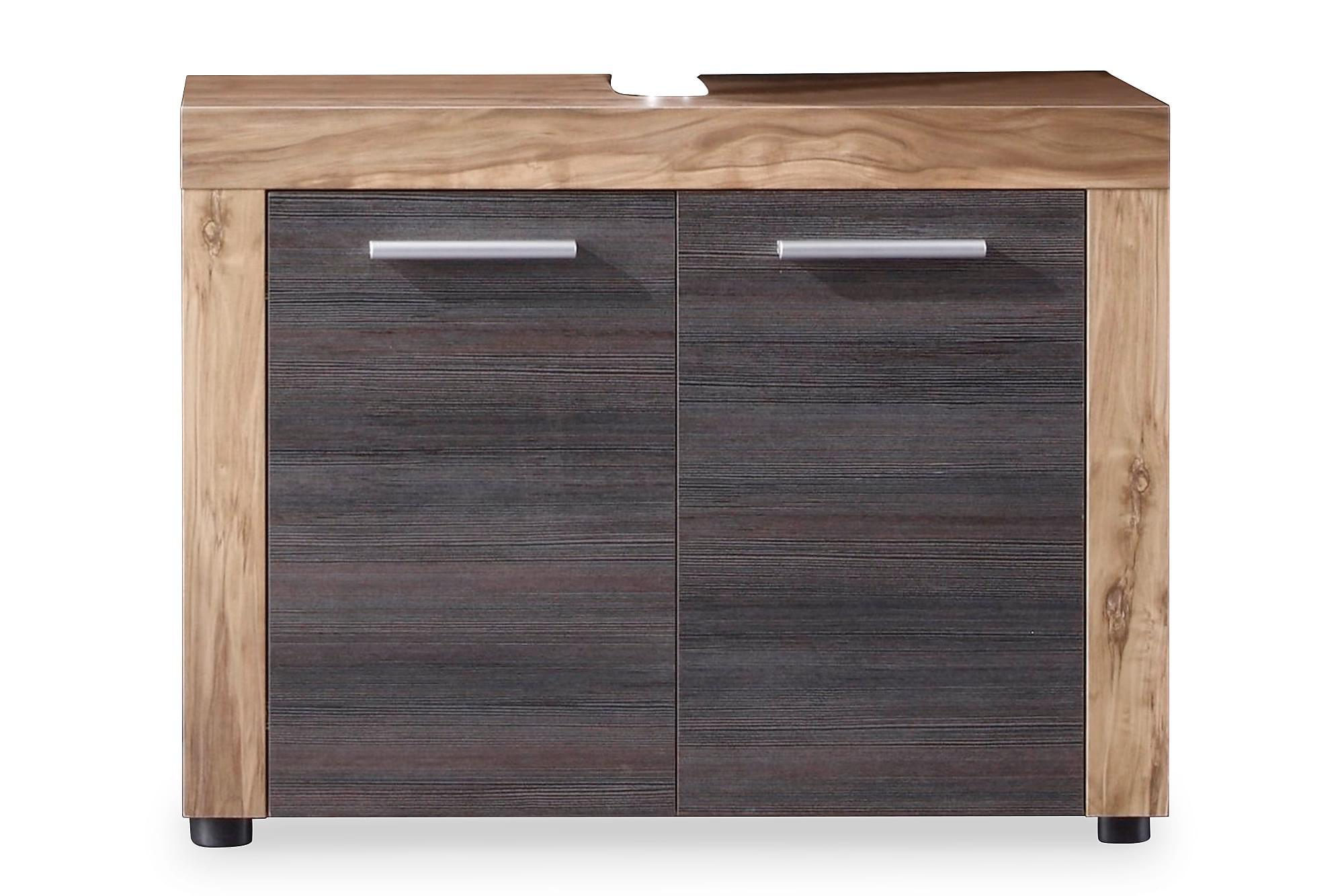 Cornell Möbelset XL 4 Delar Valnöt/Touchwood, Badrumsförvaring
