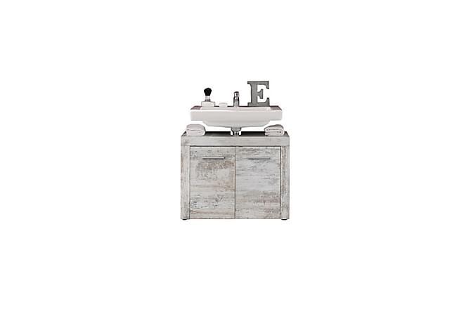 ENNYE Tvättställsskåp 72 Vintage Vit - Inomhus - Förvaring - Badrumsförvaring