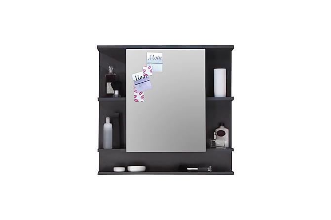 FONTINA Spegelskåp 72 Grafitgrå - Möbler & Inredning - Förvaring - Badrumsförvaring