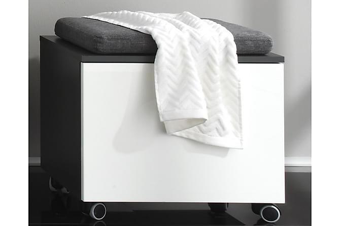 KIRAN Bänkskåp 55 Grå/Vit Högglans - Möbler & Inredning - Förvaring - Badrumsförvaring