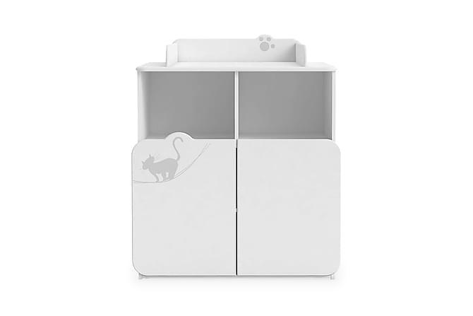 KITTY Skötbord 87 Vit - Möbler & Inredning - Förvaring - Badrumsförvaring