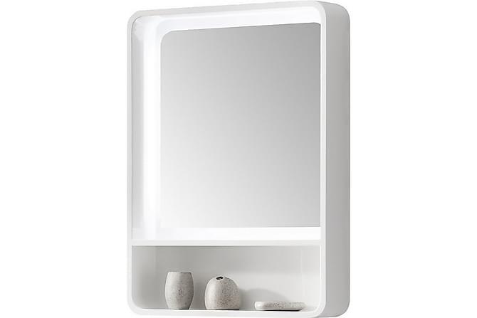 LACHELLE Spegelskåp 60 Spegel Vit - Inomhus - Förvaring - Badrumsförvaring