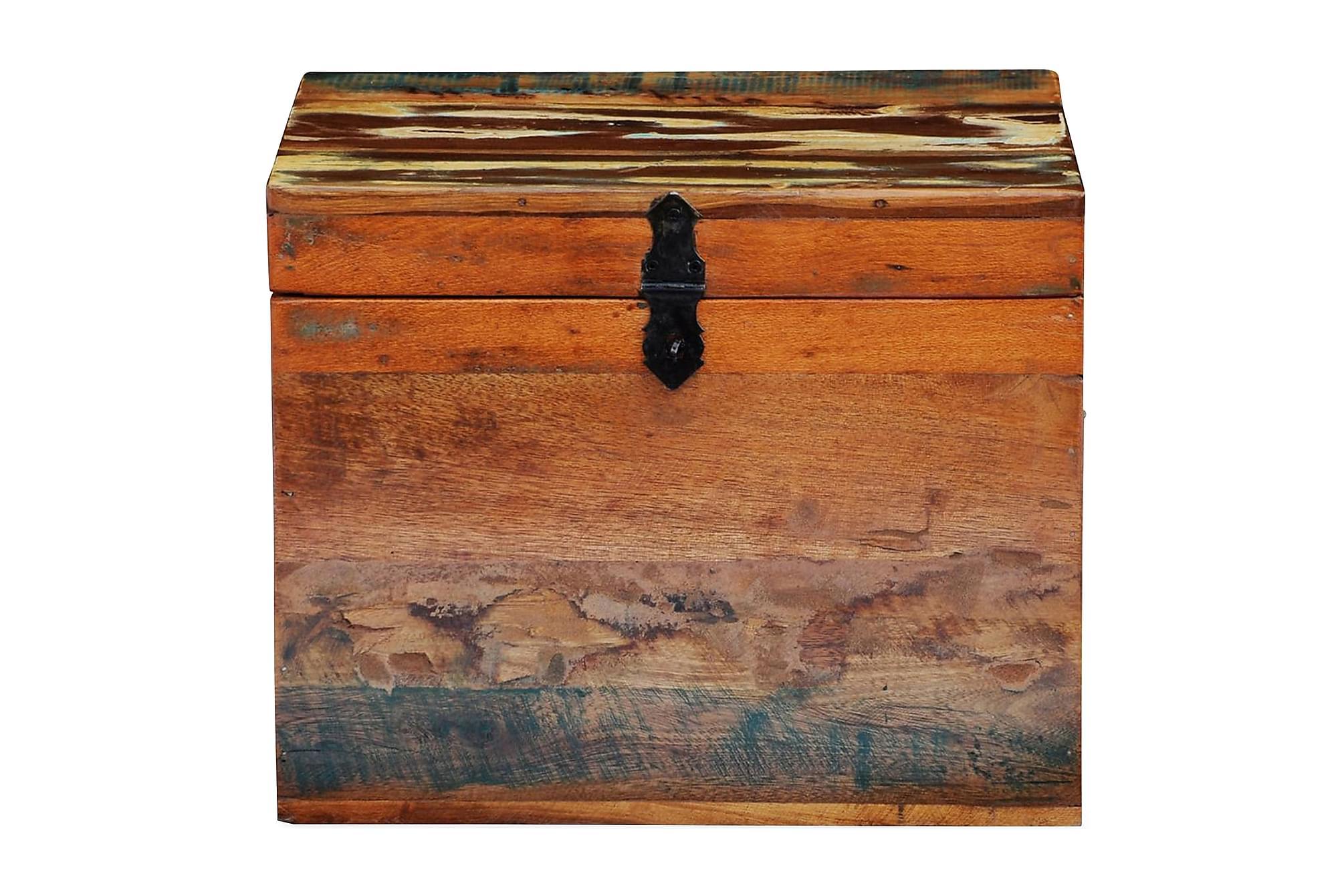 Förvaringslåda återvunnet trä, Förvaringskistor & sängkistor