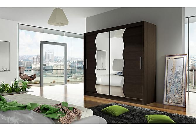 Bega Garderob 180x57x215 cm - Vit - Möbler & Inredning - Förvaring - Garderober