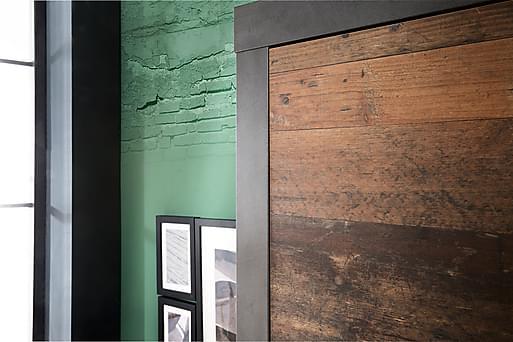 BUCINE Garderob 65 Grå, Garderober thumbnail