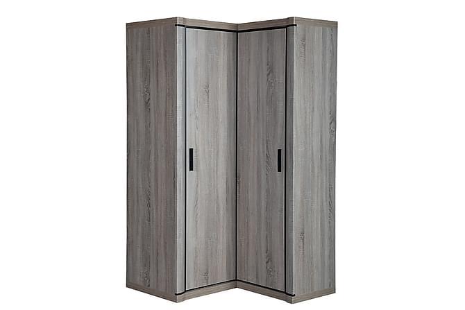 Dallas Garderob 100x58x192 cm - Beige Grå - Inomhus - Förvaring - Garderober