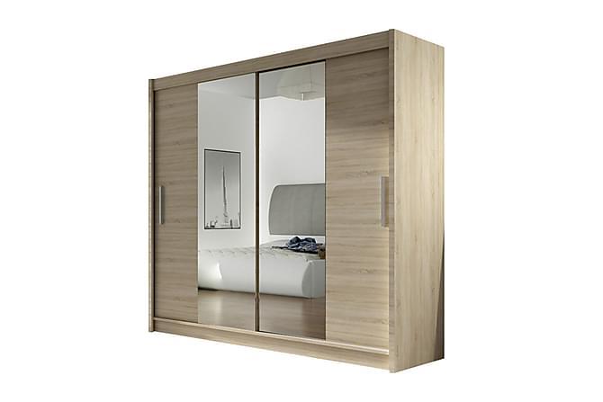 garderob skjutdörrar spegel