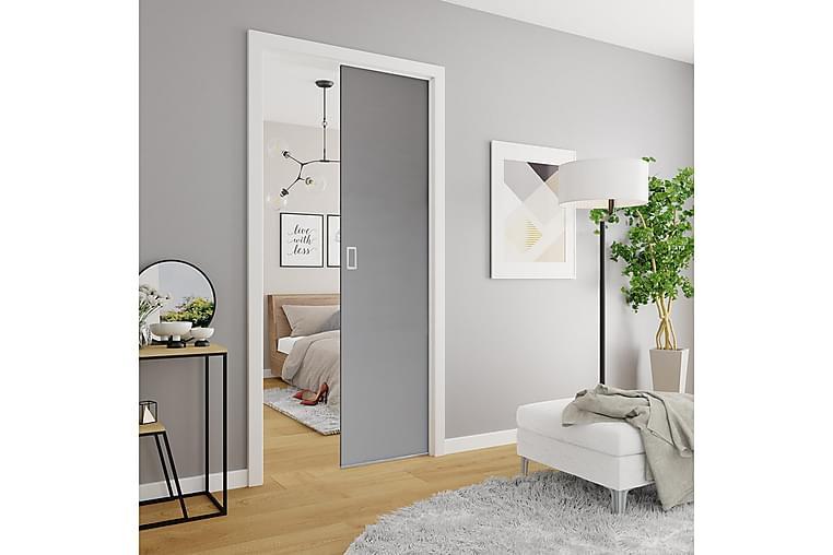 EVO Dörr 96x4x205 cm - Antracit - Möbler & Inredning - Förvaring - Garderober