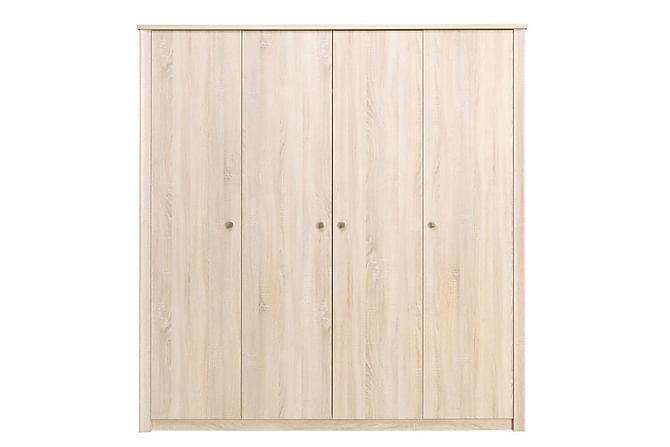 Finezja Garderob 200x54x202 cm - Beige - Inomhus - Förvaring - Garderober