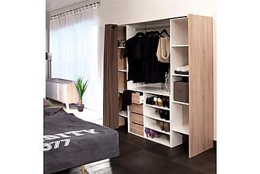 IMAKA Garderobssystem Natur/Vit