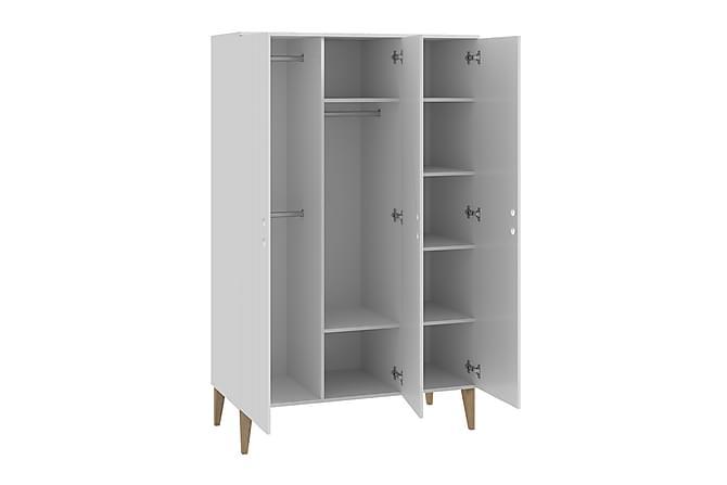 Miki Garderob 120x50x190 cm - Grön|Vit - Inomhus - Förvaring - Garderober