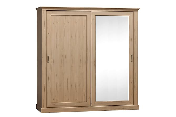 PUMFREY Garderob 211x68x220 cm - Beige - Inomhus - Förvaring - Garderober
