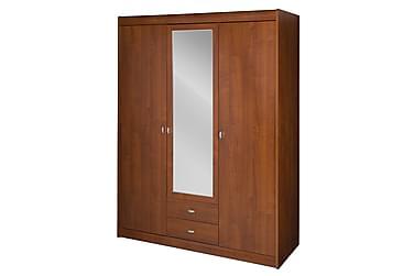 STAPLE Garderob 149 med Spegel Trä/Brun