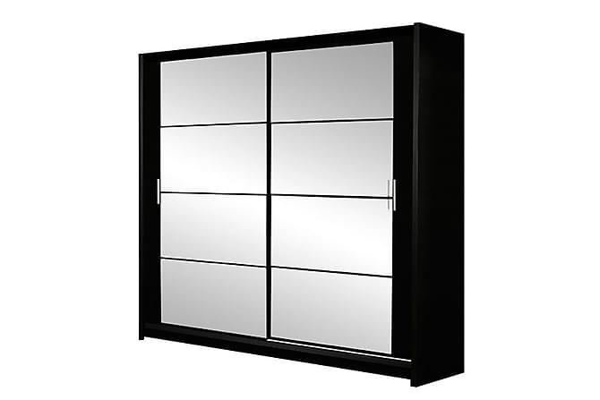 SUSY Garderob Svart - Svart - Möbler & Inredning - Förvaring - Garderober