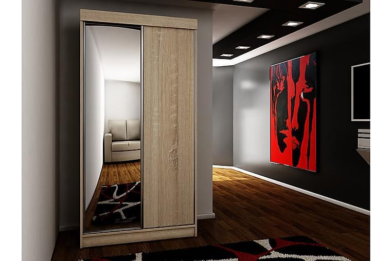 TOP Garderob 100x62x200 cm - Beige - Möbler & Inredning - Förvaring - Garderober