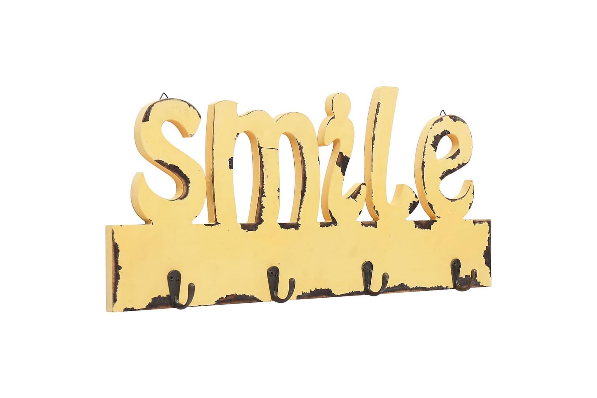 Väggkrokar SMILE 50×23 cm