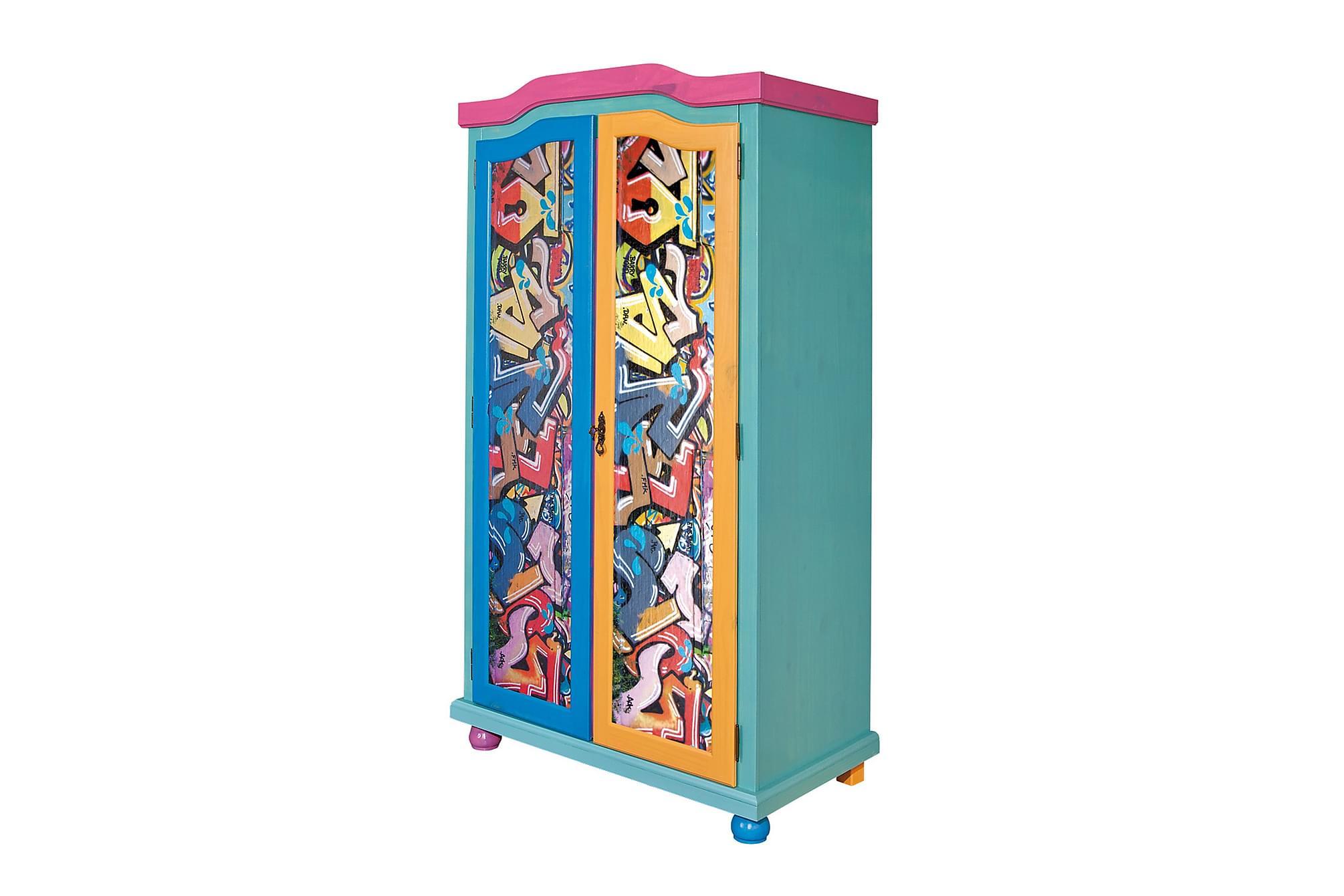 VALDE Garderob 103 Grafitti